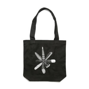 Circle of Feathers Tote Thumbnail